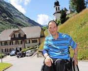 Alois Arnold konnte 2012 sein 40-Jahr-Jubiläum auf der Gemeindekanzlei Unterschächen feiern. (Bild Urs Hanhart)