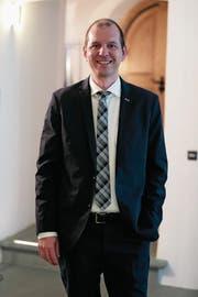 Michael Siegrist, 42, CVP, Alpnach, Direktionssekretär Landwirtschaft & Umwelt sowie Justiz & Sicherheit in Nidwalden, verheiratet, 3 Kinder. (Bild: Roger Zbinden)