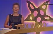 Die Dankesworte von Nadja Räss. (Bild: Star TV)