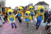 Die Kinderfasnacht im Nidwaldner Hauptort im vorigen Jahr. (Bild: André A. Niederberger (Stans, 8. Februar 2016))