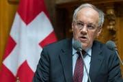 Der Bundesrat Johann Schneider-Ammann warnt vor falschem Wachstum. (Bild: Keystone)