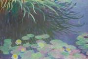 Das Gemälde «Nymphéas avec reflets de hautes herbes» von Claude Monet soll mit Geld bezahlt worden sein, das aus dem malaysischen Staatsfonds 1MDB abgezweigt worden ist. (Bild: Wikimedia Commons)