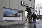 Bei der neuen Jubiläums-Kampagne der Urner Kantonalbank stehen die einheimischen Köpfe im Zentrum. (Bild: Urs Hanhart)