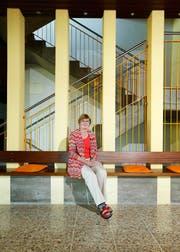 Ist mit der Entwicklung des Zentrums Sonnhalde zufrieden: Stiftungsratspräsidentin Ruth Jorio. (Bild Stefan Kaiser)