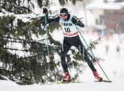 Ueli Schnider läuft bei seinem Weltcup-Comeback in Davos auf Rang 52. (Bild: Federico Modica/Freshfocus (10. Dezember, 2017))