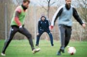 Seit dem 22. März neuer Trainer in Vaduz: Roland Vrabec. (Bild: Gian Ehrenzeller/Keystone (Vaduz, 22. März 2017))