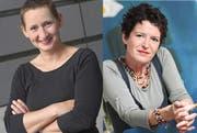 Die Regisseurin und die Autorin: Annette Windlin und Gisela Widmer (Bild: Georg Anderhub / PD)