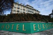 Das Hotel Europe an der Haldenstrasse in Luzern; hier in einer Aufnahme aus dem Jahr 2010. (Bild: Boris Bürgisser (Luzern, 26. November 2010))