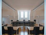 Gerichtssaal im Rathaus in Stans. (Archivbild: Markus von Rotz)