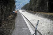 Die Nutzung der Urner Wasserkraft – wie hier am Schächenbach – ist gefragt. (Bild Urs Hanhart)