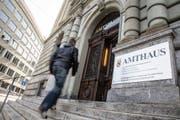 Das Wirtschaftsstrafgericht des Kantons Bern befindet sich im Amthaus Bern. (Bild: peter Klaunzer/Keystone)