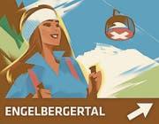 Die Werbetafel für das Engelbergertal.