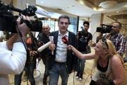Er leitet neu Griechenlands Finanzen: Evklidis Tsakalotos. (Bild: EPA)