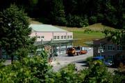 Der Werkhof Furibach in Sarnen. (Bild: Corinne Glanzmann)