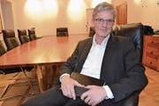 «Es geht dabei eigentlich niemandem um wirtschaftliche Vorteile.» Urs Kälin, Gemeindepräsident Altdorf. (Bild: Sven Aregger (Neue Urner Zeitung))