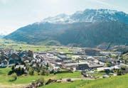 Schöne Aussichten: Die Finanzen der Gemeinde Andermatt stehen auf gesunden Füssen. (Bild: Roger Grütter (Andermatt, 16. Mai 2017))