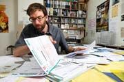 Steuererklärung am Mittwoch startet die Hotline. (Bild: Archiv Remo Naegeli / Neue LZ)