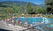 Im Strandbad Seefeld in Sarnen sorgten im August viele Gäste für einen versöhnlichen Abschluss einer durchzogenen Saison. (Bild Corinne Glanzmann)