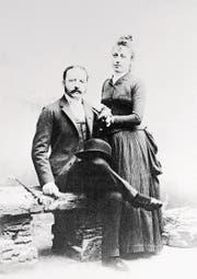 Cäsar und Marie-Louise Ritz im Jahr 1888. (Bild: Bettmann/Getty)