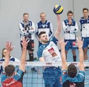 Wertvolle Stütze im Luzerner Team: Strahinja Brzakovic. (Bild: Boris Bürgisser (Luzern, 14. Januar 2018))