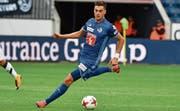 Kaum zu bremsen: Tomi Juric ist beim FC Luzern derzeit der Torschütze vom Dienst. (Bild: Martin Meienberger/Freshfocus (Luzern, 23. Juli 2017))