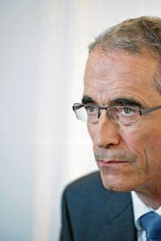 Serge Gaillard, der Direktor der Eidgenössischen Finanzverwaltung, aufgenommen bei einem Interview in seinem Büro in Bern. (Bild: Corinne Glanzmann (22. Dezember 2016))