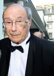 Pierre Aubert am Lucerne Festival im Jahr 2010. (Bild: Archiv Neue LZ)
