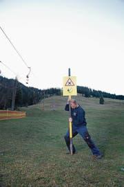 Zu oft wars auf dem Wirzweli nichts mit Skifahren. Spätestens 2021 ist definitiv Schluss. (Bild: Corinne Glanzmann (Wirzweli, 23. Dezember 2014))