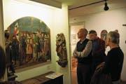 oder Schutzheilige spielten zur Zeit von Bruder Klaus eine grosse Rolle, wie man gestern im Historischen Museum in Sarnen erfuhr. Bilder: Matthias Piazza (Bild: Matthias Piazza (30. April 2017))