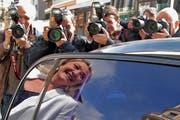 Die Partei «Front National» und ihre Chefin Marine Le Pen stehen im Zentrum der Aufmerksamkeit. (Bild: Keystone)