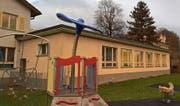 Das Schwesternhaus soll einem Neubau für mindestens sechs Kindergartenklassen weichen. (Bild: Markus von Rotz (Alpnach, 17. November 2017))