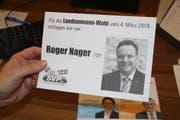 Das Foto auf dem Wahlkuvert der SVP Uri hat - zu Unrecht - für Kritik von Seiten der FDP Uri gesorgt. (Bild: Bruno Arnold (19. Februar 2018))