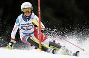 Hat bereits drei Medaillen bei der Elite auf ihrem Konto: Aline Danioth aus Andermatt. (Bild: Gabriele/Facciotti Keystone (Ofterschwang GER, 10. März 2018))