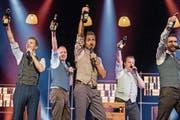 Die A-cappella-Formation Bliss garantiert genussreiche, humorvolle Unterhaltung.