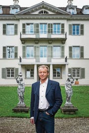 Stefan Brunner vor seinem Arbeitsplatz dem Bezirksgericht Kriens. (Bild: Roger Grütter (Kriens, 9. Juni 2017))