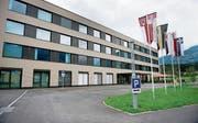Das Kantonsspital Obwalden in Sarnen. (Bild: Corinne Glanzmann (20. August 2014))