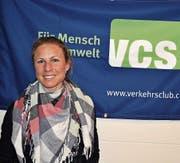 Alice Wigger ist die neue Geschäftsstellenleiterin der VCS-Sektion Ob- und Nidwalden. (Bild: Birgit Scheidegger (Sarnen, 11. April 2017))