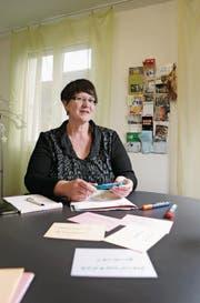 Andrea Mathiuet, Geschäftsstellenleiterin der Kontaktstelle Arbeit Obwalden/Nidwalden. (Bild: Corinne Glanzmann (Sarnen, 9. August 2017))