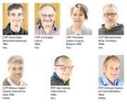 Das sind die sieben Kantonsratskandidaten.