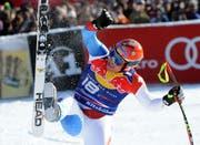 Und auch 2011 zum Skijubel eingesetzt: Didier Cuche. (Bild: Keystone)