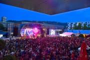 Wie man auf dem Platz feiern kann, hat etwa das Konzert von Lo und Leduc am letzten Freitag gezeigt. (Bild Christian H. Hildebrand)