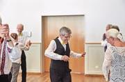 Frühlingstanz der Pro Senectute Glarus: Die Seniorenverbände legen sich auch für die AHV-Reform ins Zeug. (Bild: Christof Schürpf/Keystone (Ennenda, 16. März 2017))