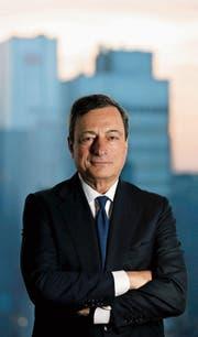 EZB-Präsident Mario Draghi. (Bild: Tim Wegner/Keystone (Frankfurt, 22. Oktober 2012))