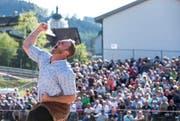 Nach dem Festsieg am Schwyzer Kantonalen (Bild) am letzten Sonntag kann sich Andreas Ulrich am Pfingstmontag erneut über einen Erfolg freuen. (Bild: Keystone / Alexandra Wey)