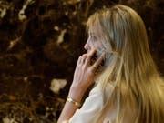 Armreif des Anstosses: Ivanka Trumps Schmuckfirma wirbt nach TV-Auftritt für 10'800-Dollar-Ring. (Bild: KEYSTONE/AP/EVAN VUCCI)