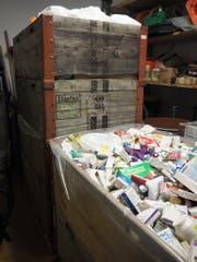 Im Sammelmonat November wurden rund 2,2 Tonnen nicht mehr benötigte oder abgelaufene Medikamente eingesammelt. (Bild: PD)