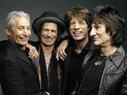 Die Rolling Stones auf einem Bild von 2006 (Bild: Keystone)