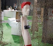 An dieser Skulptur von Peter Bissig werden bis zu eine halbe Million Zuschauer vorbeigehen. (Bild: Philipp Kuntze, www.world-crafts.org)