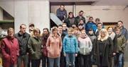 Das Team des Pinocchio-Skilifts Unterschächen ist startklar und freut sich auf viele Gäste. (Bild: PD (Unterschächen, November 2017))