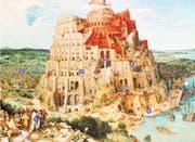 Pieter Bruegel der Ältere hat den Turmbau zu Babel von Mesopotamien in die Landschaft seiner Heimat Flandern verlegt. (Bild: Getty)
